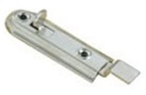 Picture of 70mm Necked Flush Bolt Nickel Plated
