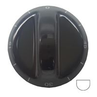 Picture of Knob SO DY Timer 6mm Blk