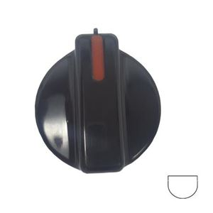 Picture of Knob SO DY Control 5mm Blk/Red