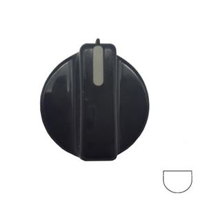 Picture of Knob SO DY - Timer Black/Grey Ins