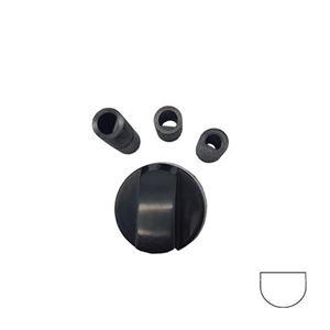 Picture of Knob SO UN Black Universal 6/8mm Long/Short