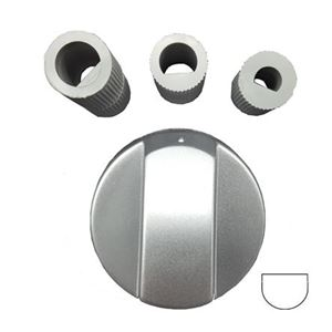 Picture of Knob Oven Silver With Riduction Kit