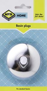 Picture of Mts Home Chrome Self Seating Basin Plug