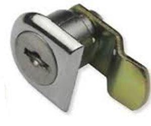 Picture of Lock Cam Cranked Nickel 19 x 25mm 45mm