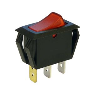 Picture of Switch Rocker Single Red