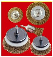 Picture of Wire Brush Set 5PCE With 6mm Shaft