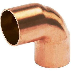 Picture of Copper Elbow 90° Equal RF 3/8 9.53mm