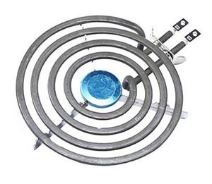 """Picture of Stove Plate DY Spiral 6"""""""