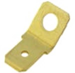 Picture of Terminal Male Brass Non-Ins 6.3 x 0.8mm 45 Deg