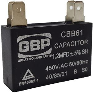 Picture of Capacitor 450V Square 1.2Uf