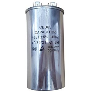 Picture of Capacitor 45uf 450v Steel